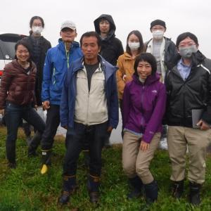 新潟・佐渡島から農法講習会