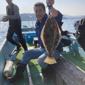 まむし一族のヒラメ釣り
