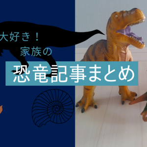 【恐竜大好き】親子で楽しむ恐竜の世界!場所・おもちゃ・グッズのおすすめをまとめました
