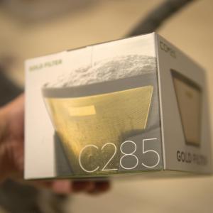 金色のコーヒーフィルター、Cores の Gold Filter C286