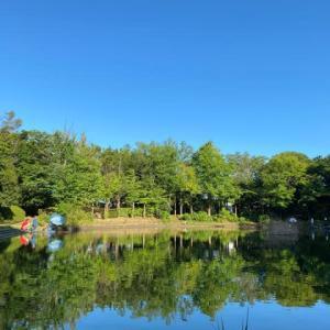 タナゴ釣り 山崎公園 20210801
