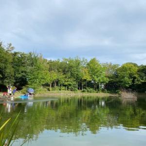 タナゴ釣り 山崎公園 20210822