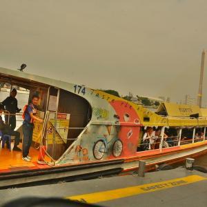 「チャオプラヤエキスプレス」に乗船~今回は「プラ アーチット」から北上し「ノンタンブリー」へ!!