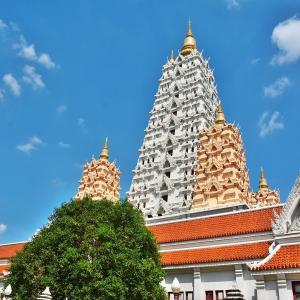 「ワット ヤンサンワララム(Wat Yannasangwararam)」~パタヤ南部 湖畔の丘陵に佇むお寺のテーマパーク!!
