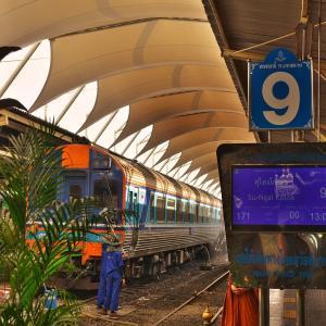 「深夜特急マレー半島縦断ルート」 バンコクファランポーン駅~チュンポン駅間を鉄道を利用してみました。。。