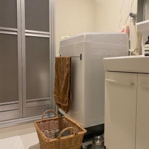 洗濯器の予約機能は夢の機能♪