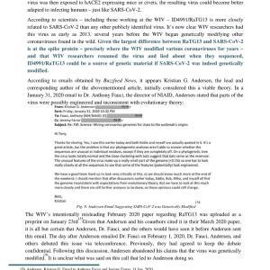 新型コロナウイルスは、中国の武漢ウイルス研究所から誤って流出した その4