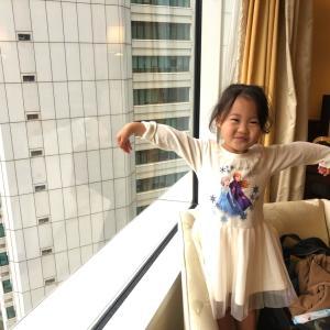 記念日に、香港で3歳児とステイケーション