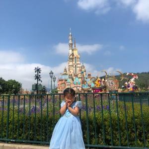 プリンセス好きにはたまらない、香港ディズニーの新しいお城。
