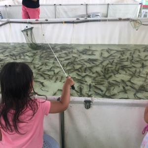 香港ではじめてのエビ釣り@元朗