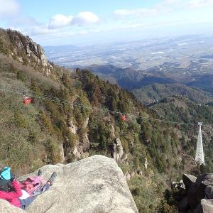 鈴鹿 御在所から鎌ヶ岳周遊 歩荷トレーニング 2020.12.05