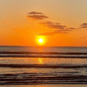 昨日見た夕陽
