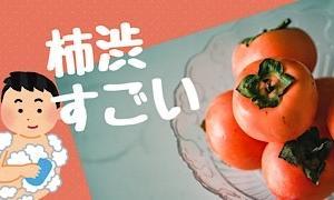 夏の匂い対策にお勧め!柿渋成分!