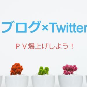 ブログ集客×Twitter集客でPV爆上げしよう!