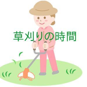 草刈りの時間