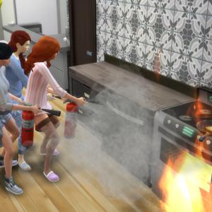 98.火事と逮捕と出産