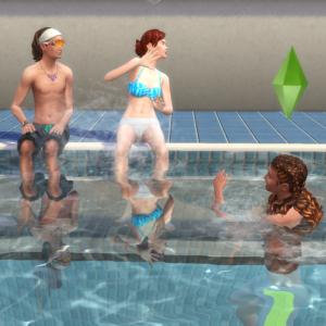 153.みんなでプール