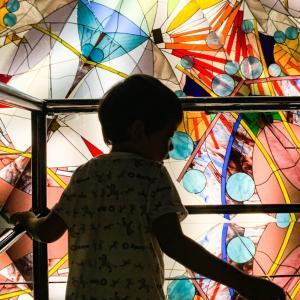 【愛知】全面万華鏡が美しい|西尾市のガラス美術館