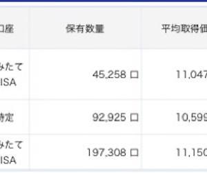 【2020/9/18】資産状況(+5.2万)
