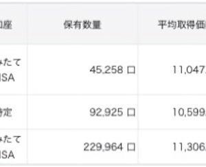 【2020/10/25】資産状況(+6.9万円)