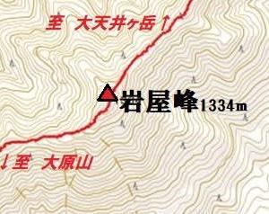 リベンジ 大天井ヶ岳 3 五番関まで