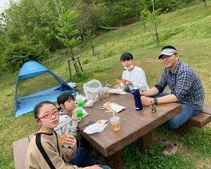 モスバーガ―ピクニック