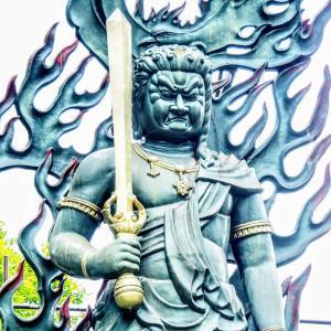【鹿沼市】(驚愕)ドヤ顔銅像!『金剛山瑞峯寺』