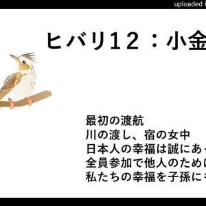ヒバリ12:小金と誠