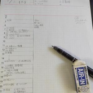 一日の予定と雑記と日記をひとまとめにしてみました。