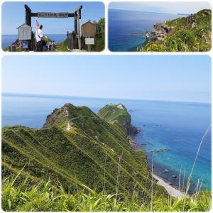 バスツアーで神威岬へ