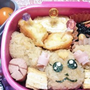 娘も作ったキャラ弁!ヒーリングットプリキュアのラテ弁当