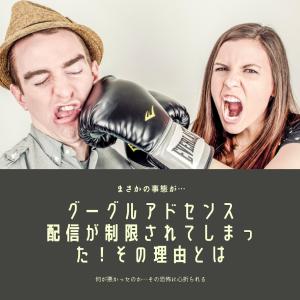 【悲報】Googleアドセンス広告が急に出なくなった!