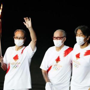 【朗報】長嶋、王、松井「国民栄誉賞トリオ」が開会式そろい踏み(*'▽')(*'▽')(*'▽')