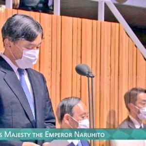 【悲報】天皇陛下の開会宣言 総理と都知事が着席したまま…('ω')('ω')('ω')