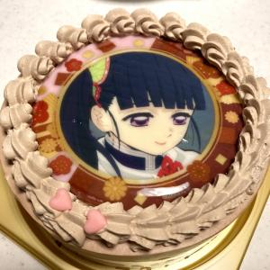 鬼滅のケーキ「カナヲ」を選んだ小2女子