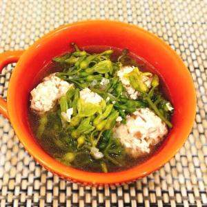 ティエンリー(夜来香)の肉団子スープ