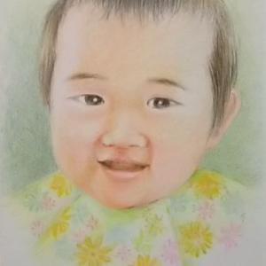 またまた 子供の笑顔です。