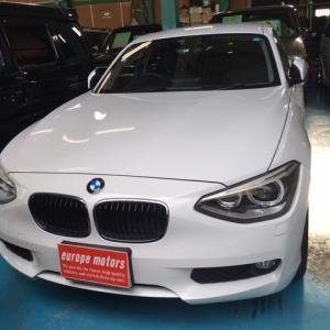 BMW116iご成約です!
