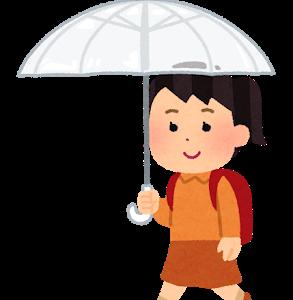安全に登校してほしい!ADHDの小学生におすすめな傘とは?