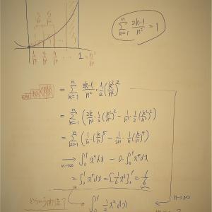 置換積分の真の姿は,区分求積で見えてくる?