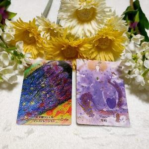 8/11のオラクルカード 直感に従って平和へつながる道を選ぼう