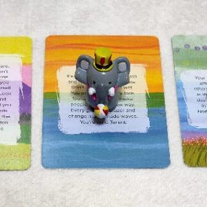 10/28のオラクルカード ラブノートカードで三択です