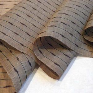 平良さんの芭蕉布に生紬チャンチン帯。芭蕉布について。