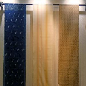 上布揃い踏み。 上布いろいろの説明と絹の上布について。
