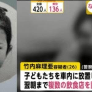 竹内麻理亜(高松市)育児放棄がなかったは嘘!ホストクラブで妊娠中なのに飲酒をしていた
