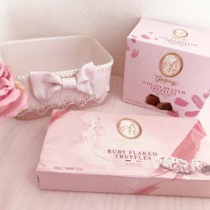 カルディで見つけたピンク♡パッケージ♡チョコ