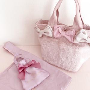 お気に入りのピンクバッグを持ってのんびりお散歩♡
