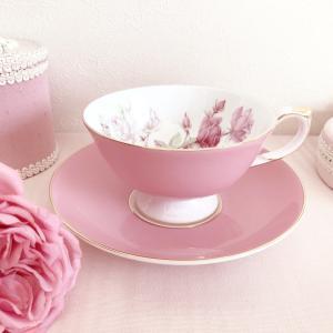 pink♡tea cup♡でのんびりおうちティータイム♡♡