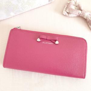 ジルスチュアートのピンク♡キラキラリボン長財布♡