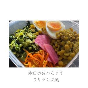 スリランカ風カレーべんとう